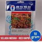 "Selada Merah – Known You Seed ""RED RAPID"""