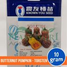 "Striped Butternut Pumpkin – Known You Seed ""TORSTEN"""