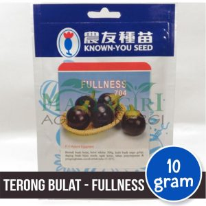 "Terong Bulat Hitam – Known You Seed ""FULLNESS"""