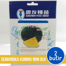 "Semangka Kuning Bulat Non Biji – Known You Seed ""PIXIE"""