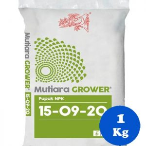 Pupuk Meroke NPK Mutiara Grower 15 – 9 – 20 Kemasan Original Pack 1 Kg